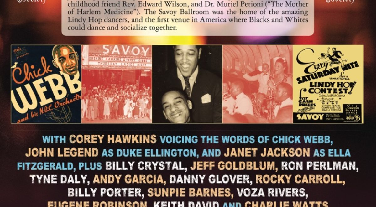 "THE SAVOY KING - ""Chick Webb and the Music that Changed America"" followed by a Q&A with members of the cast and production team"