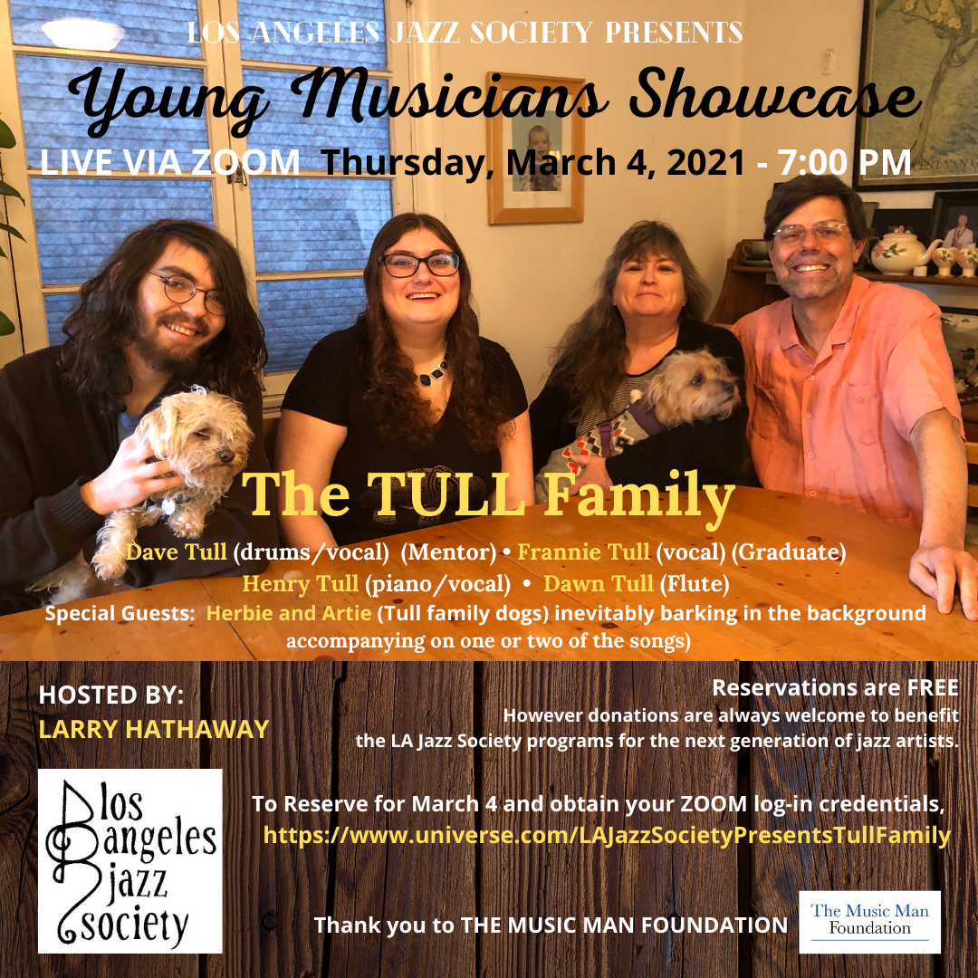 LAJS YOUNG MUSICIANS SERIES - Mar 4 TULL